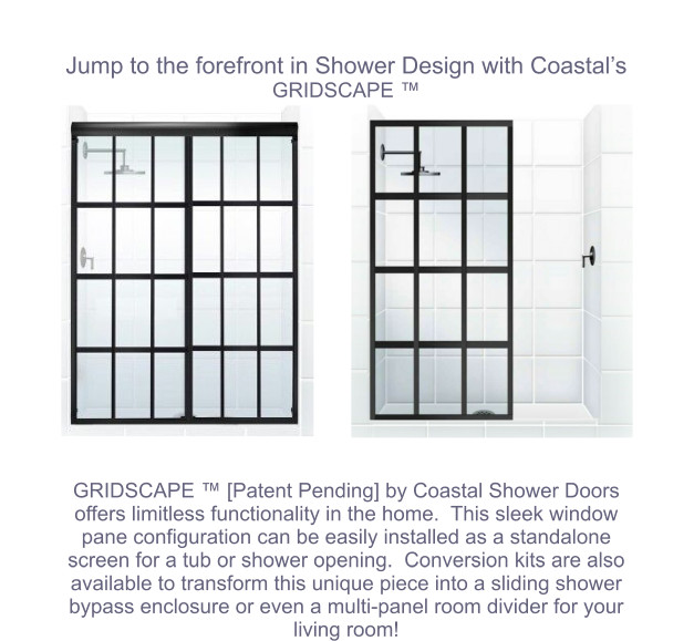 Gridscape Shower Door